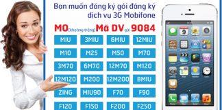 Tổng hợp cách đăng kí 3G Mobifone 1 ngày Home
