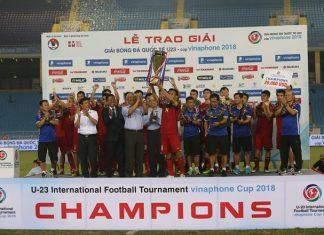 U23 Việt Nam vô địch, VNPT hoành thành sứ mệnh Cup VinaPhone 2018