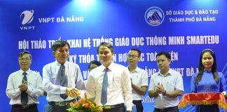VNPT công bố sẽ hỗ trợ Đà Nẵng xây dựng một nền giáo dục thông minh