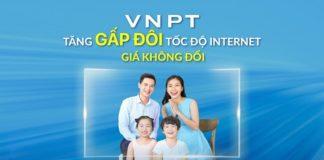 Chính sách giảm giá Internet cáp quang đặc biệt của VNPT