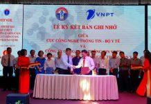 VNPT hợp tác với Cục Công nghệ Thông tin – Bộ Y tế phát triển công nghệ thông tin y tế